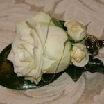 Buttonhole - Rose with Wire