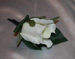 Buttonhole Artificial - Rose