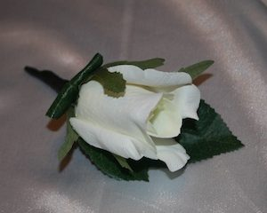 Buttonhole Artificial - Rose