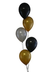 Helium Balloons set of 5