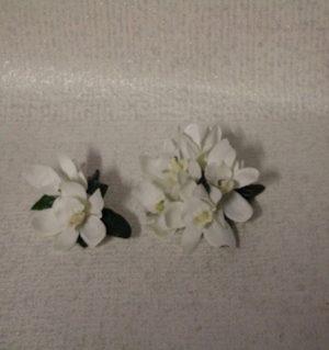 Artificial Wrist corsage Set Orchids