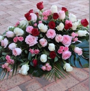 Roses Casket Spray