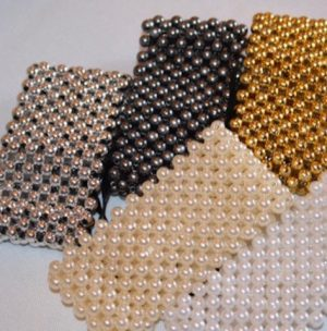 Z-A Find your Wrist Band Elastic & Diamante