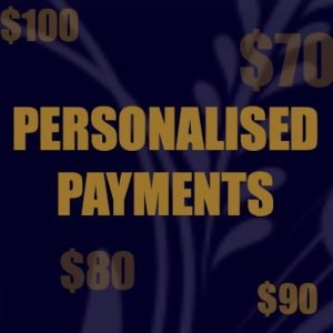Personalised Payments